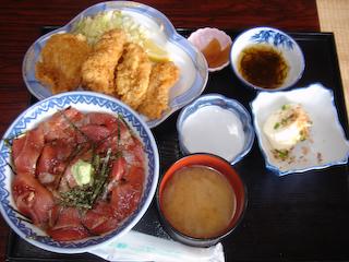 「金彦魚店」A定食