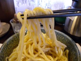 「ぬーぼう」ガッツリ極太つけ麺UP2
