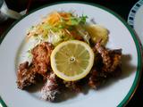 「季分屋」鶏の唐揚げ定食