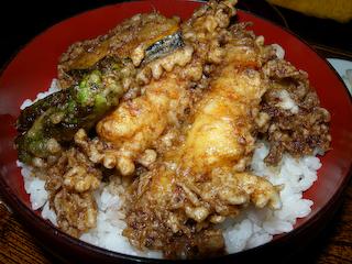 20100130「染太」天丼(梅)
