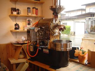 「sui-cafe」焙煎機