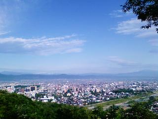 盃山からの眺め1