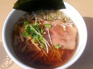 「らぁ麺 風゛」らぁ麺