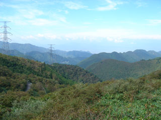 2070922もりくまツーリング山形県側眺め