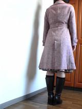 トレンチドレスコート(後ろ)