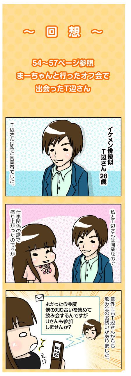 【婚活漫画】54話 T辺さん主催の飲み会