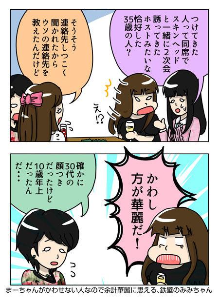【婚活漫画】62話-1  婚活オフ飲み会後の打ち明け女子会119_03