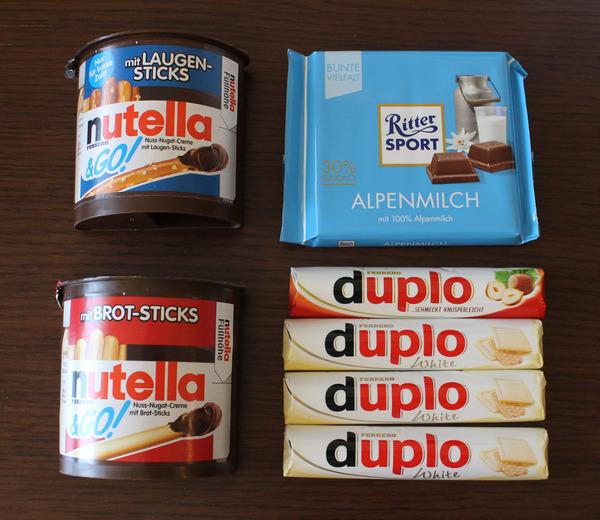 ドイツのチョコレート1