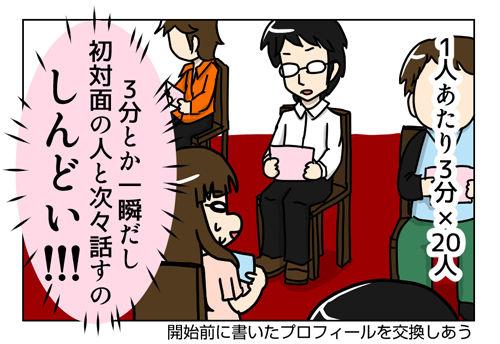 【婚活漫画】90話-1 前に行った婚活パーティーの話