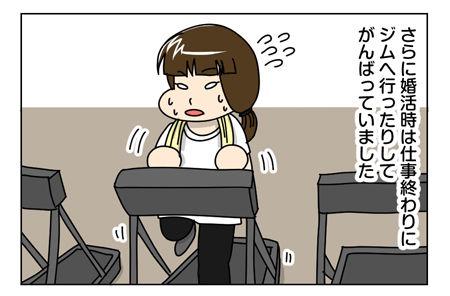 144_04【婚活漫画】67話-オマケ ロードバイクと弱虫な自転車アニメ