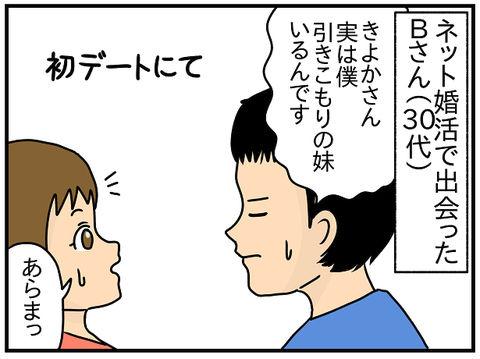 519.きよかの婚活奮闘記② お野菜をのけて