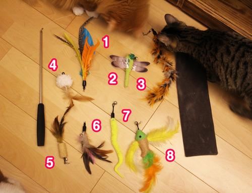 うちの猫たちが大興奮のおもちゃ