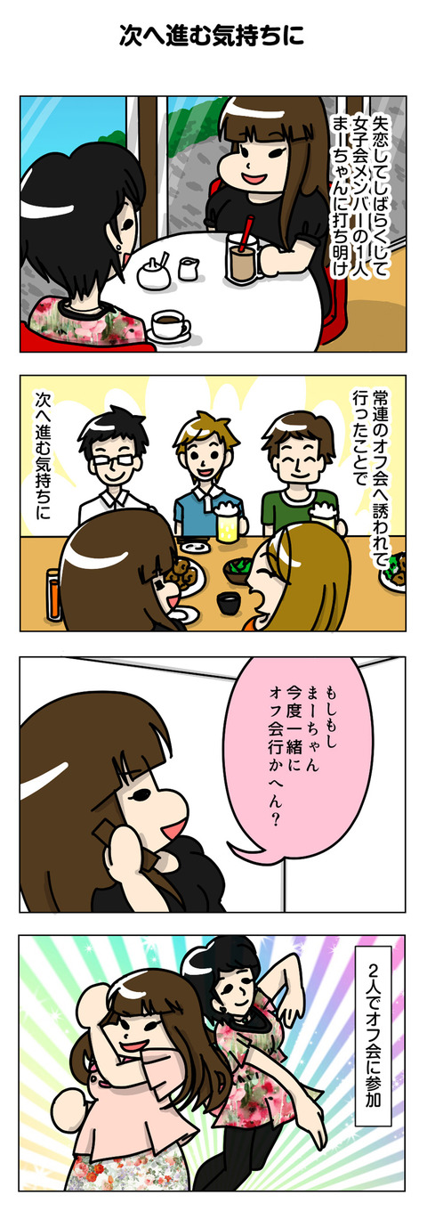 【婚活漫画】1~3章 ダイジェスト 〔キッカケ~オフ会~ネット婚活編〕