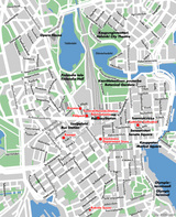 Map of Helsinki[Finland]