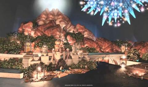 【FF14】これはガチで凄すぎる!ハウジングで製作した「ディズニーシー」が素晴らしすぎると話題に!【動画有】