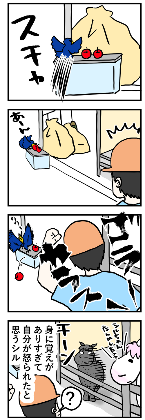 シル怒られるカラス2