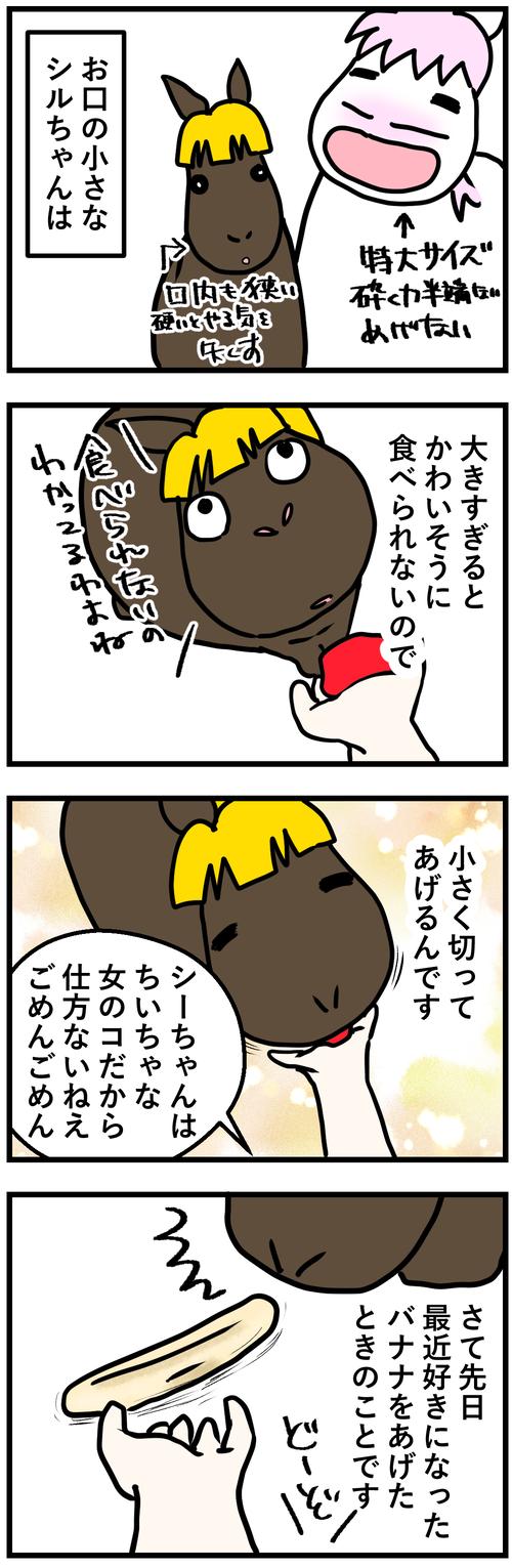 シルとバナナ1