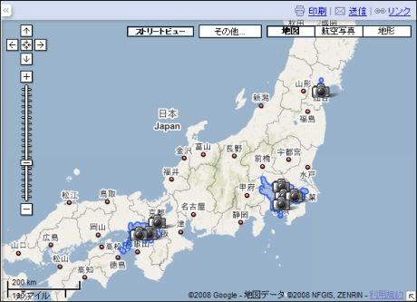 竹島のストリートビューすげぇwwwww