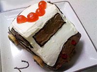 パトカーのケーキ
