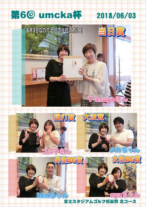 表彰式当日賞-ベスグロ賞