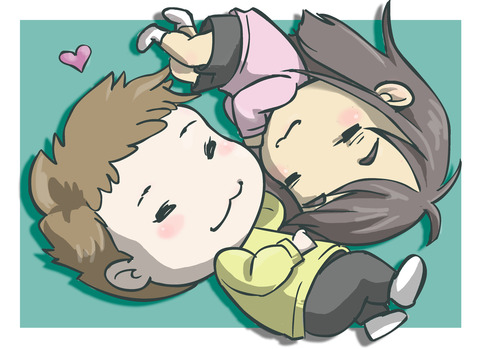 Lying Down Together (3) - cl3