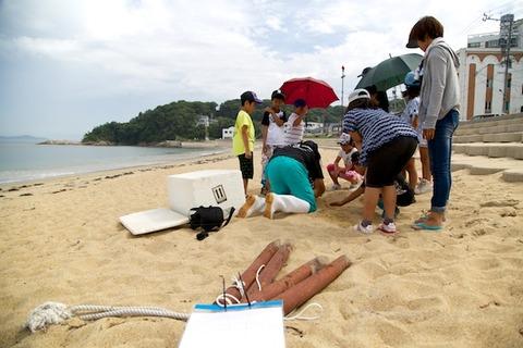 ウミガメ隊_産卵_2014-07-08 14-40-46