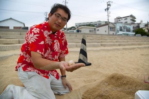 ウミガメ隊_産卵_2014-07-30 15-51-01