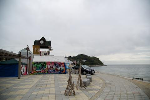 ウミガメ隊_ゴミ拾い_2014-08-24 07-11-02