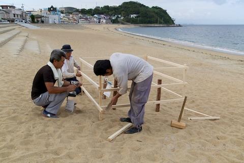 ウミガメ隊_ウミガメ産卵_2014-06-21 17-22-15