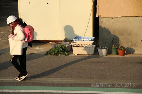 ウミガメ隊_早朝清掃_篠島小学校_2013-01-09 08-02-56