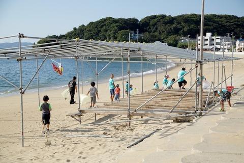 篠島ウミガメ隊_2016-08-31 07-33-48