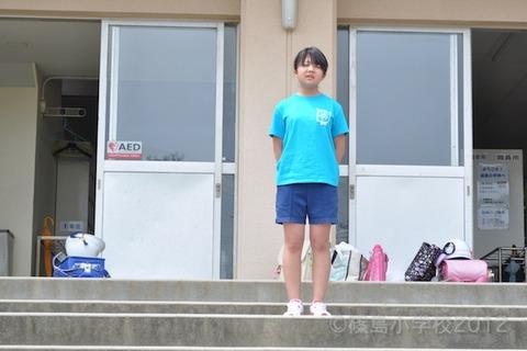 篠島小学校_篠島ウミガメ隊_ゴミ拾い_前浜_2012-05-17 13-22-34