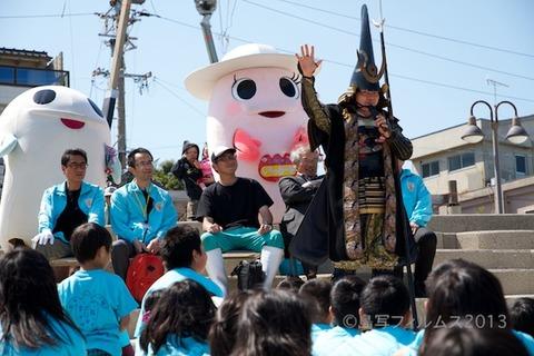 ウミガメ隊_結団式_篠島小学校_2013-05-08 13-58-49