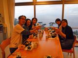 御蔵島「御蔵荘」夕食