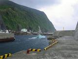 三宅島の漁船