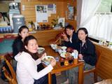 御蔵島「やまや」昼食