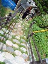 玉石の階段