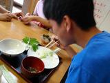 食べざかり中学生