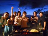 食材すべて完食!BBQ