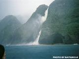 御蔵島の滝