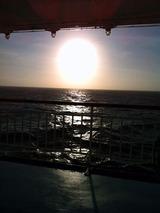 三宅島の朝日