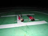 御蔵島ヘリポートで星空ウォッチング
