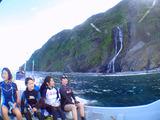 御蔵島 白滝