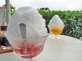 御蔵島天然水かき氷