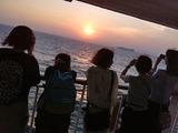 美しい東京湾の夕焼け