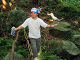 タンテイロの森へ潜入!