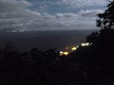 御蔵島 鳥の尾からの夜景