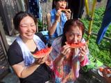 御蔵島の夏 スイカ