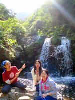 御蔵島・川田水源地の滝