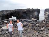 三宅島メガネ岩